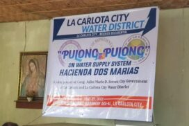 Inauguration of Carwater water supply