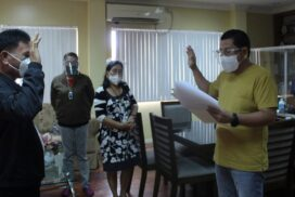 Doc Appoints Bernas as Tres' New Kagawad